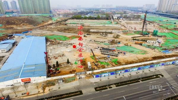 济南西进项目进展参差不齐 绿地·齐鲁之门项目进程缓慢