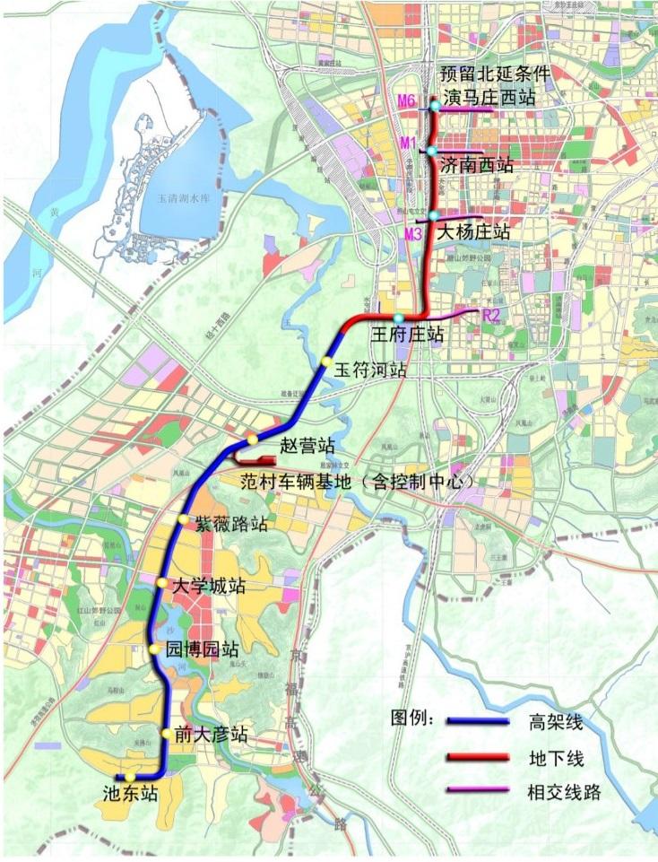 济南轨交R1R2R3线最新进展来了!附路线图