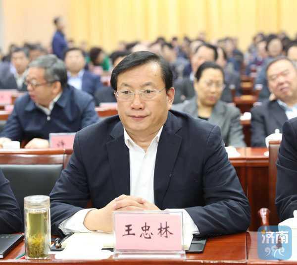 王忠林在济南分会场出席全省重点工作推进会
