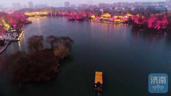 泉城夜宴扮靓春节夜生活