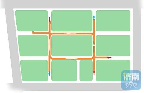 先睹为快!济南首条地下环路 将采取逆时针单向行车