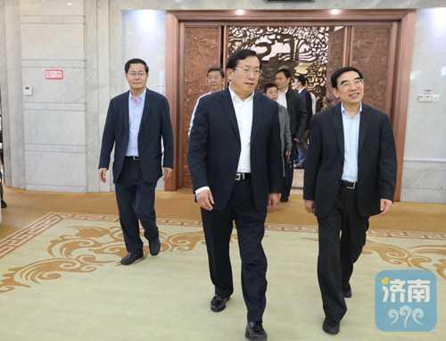王安顺率国务院调研组来济调研 王忠林孙述涛参加活动