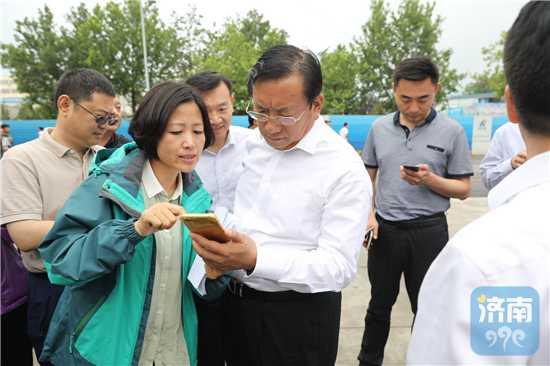 王忠林:坚决整治扬尘污染 提升城市环境品质