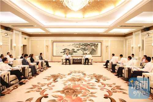 王忠林会见济南CBD国际投资发展大会企业代表