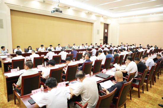 济南市城乡规划委员会第二次会议召开 王忠林主持
