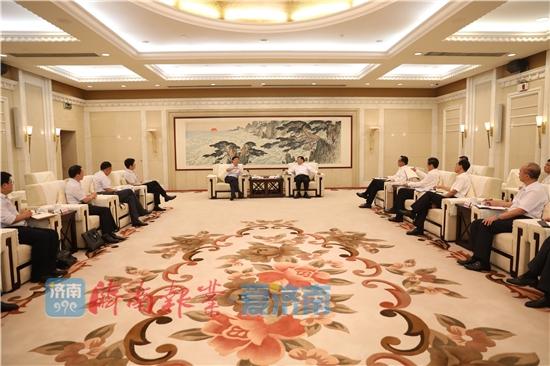 王忠林孙述涛会见科大讯飞有限公司董事长刘庆峰一行