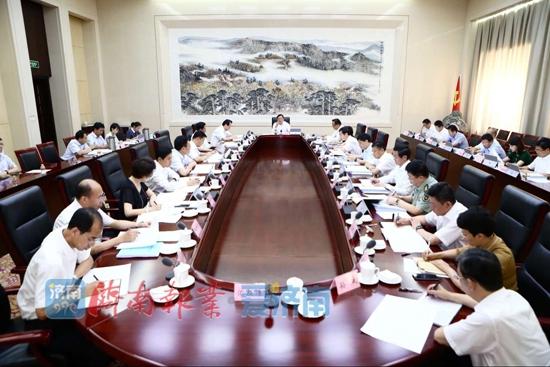 市委常委会召开会议 传达学习总书记重要讲话精神