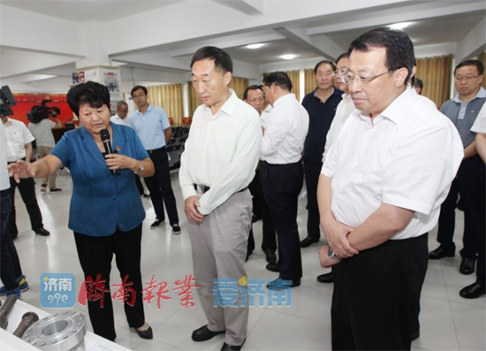 青海省党政代表团来济考察 龚正刘宁等参加活动