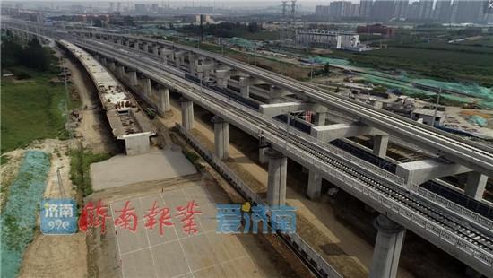 济南将建黄台联络线 济南站到济南东站不到10分钟
