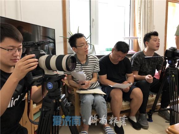 济南报业记者在现场