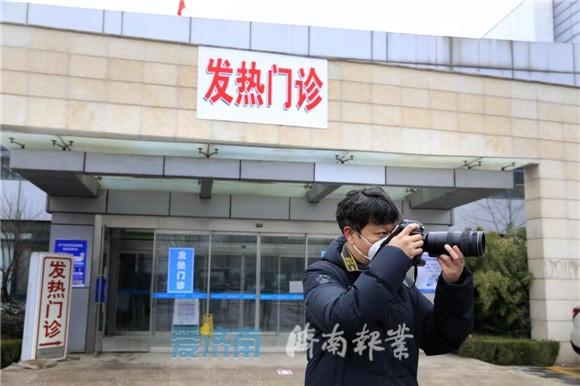"""济南市民:致敬!奋战在""""战疫""""一线的新闻记者"""