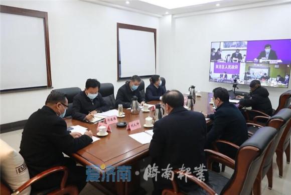 孙述涛主持召开财税工作视频调度会议 精准施策加大税源培植建设力度