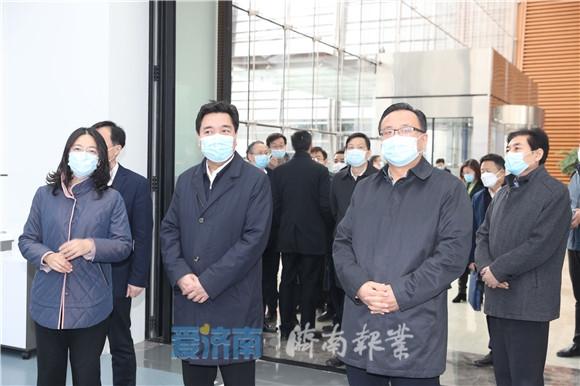 省税务局领导来济调研 孙述涛参加活动