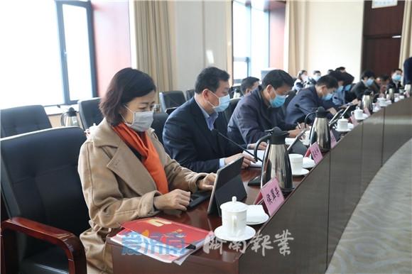 孙述涛主持召开市政府常务会议 研究加快培育高新技术企业等工作