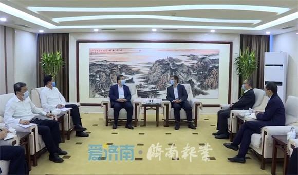 孙立成到国务院国资委联系有关工作