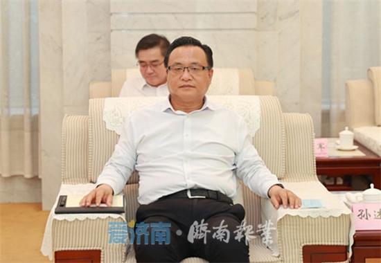 济南市与中国钢研科技集团签署战略合作协议 孙立成孙述涛会见客人并见证签约