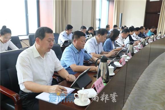 孙述涛主持召开市政府常务会议 研究深入实施品牌战略三年行动计划等工作