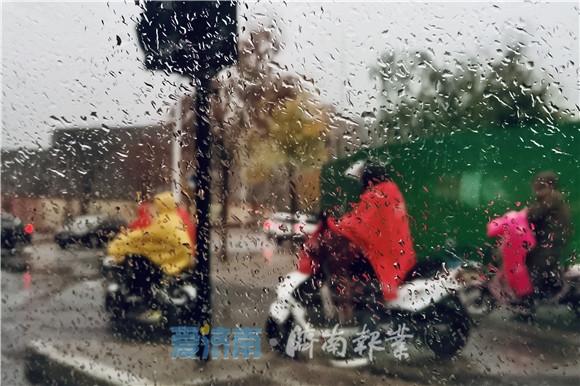 今后三天都有雨!济南今冬首个寒潮预警继续发布中 气温跌至零下