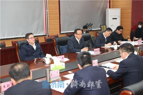 孙述涛到济南经济开发区调研并宣讲党的十九届五中全会精神 把握全会精神实质 加快高质量发展