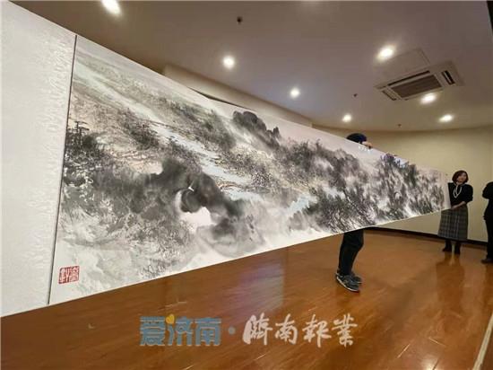 以中国画展小清河之美!这场写生精品发布会值得你关注