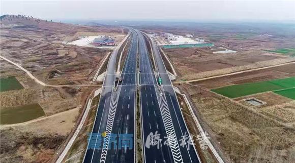 济南再添东西新通道:青兰高速莱芜段改扩建工程今天正式通车