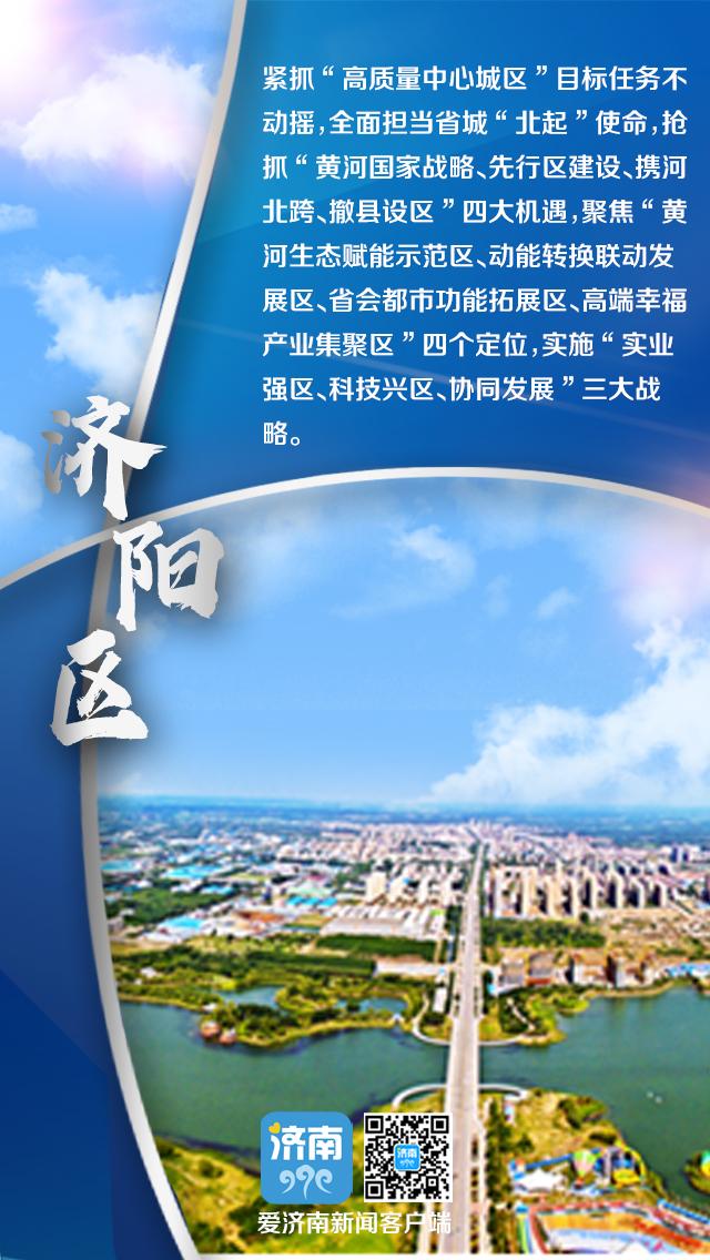 """济南新未来如何架构?围绕""""东强、西兴、南美、北起、中优""""新十字方针,各区县加速谋划"""