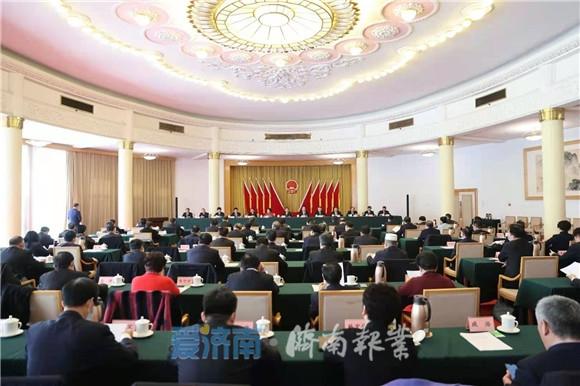 市十七届人大三次会议主席团举行第二次会议