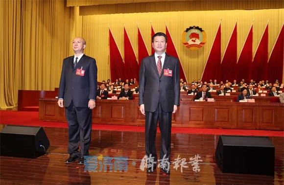 王勤光当选济南市政协副主席 倪志纯当选秘书长