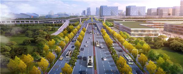 """黄河大道春节后全面开建 先行区""""经十路"""" 将快速成型"""