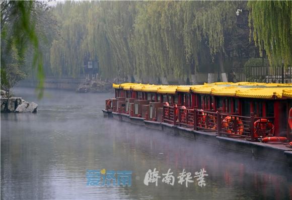 """济南护城河游船运行路线全线复航!春节假期推出""""济南府船宴"""""""