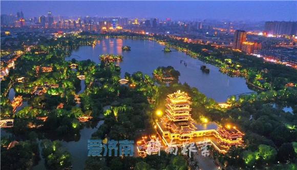 流光溢彩惹人醉,泉城夜景美得不像话! 像画!