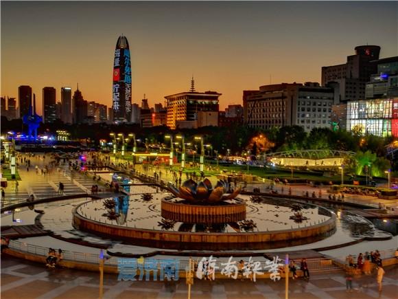 直播 | 璀璨泉城迎新春,市民记者秀夜景,醉了美了醉了!