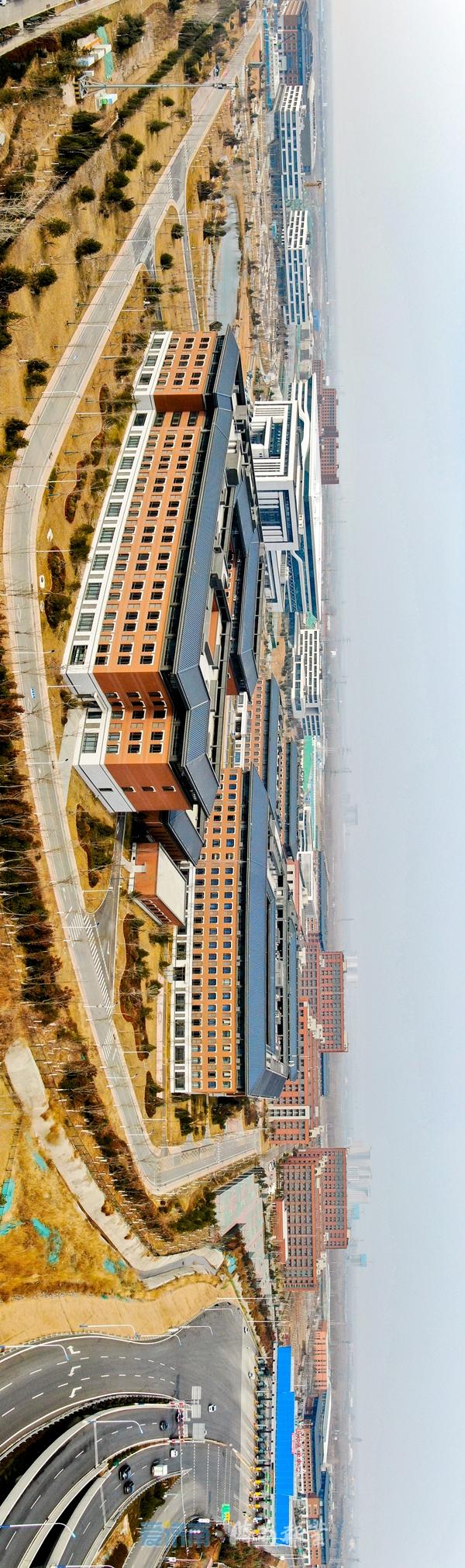 拔地而起!济南国际医学科学中心建设加速 康养名城雏形显露