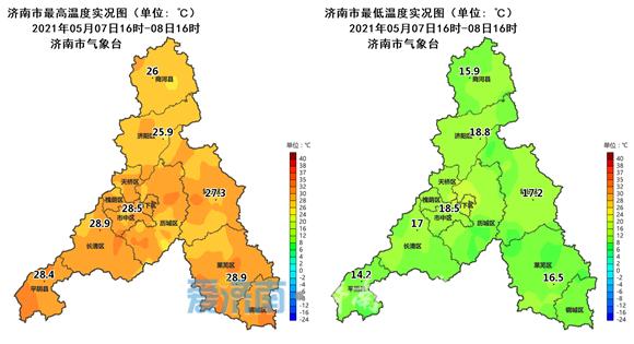 今明雷雨出没!周日夜间济南全市有雷阵雨 雷雨时阵风8~9级