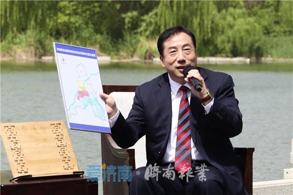 濟南市委書記孫立成 :新舊動能轉換不能猶豫、不能退縮