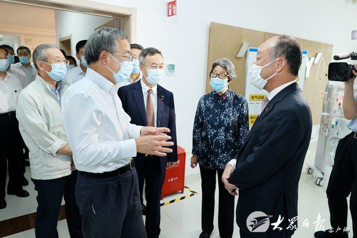 胡春華出席第二屆跨國公司領導人青島峰會開幕式并致辭,劉家義李干杰楊東奇等出席