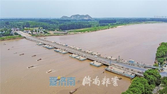 黄河济南段24日将迎此次洪水最大流量!省、市黄河河务局严阵以待