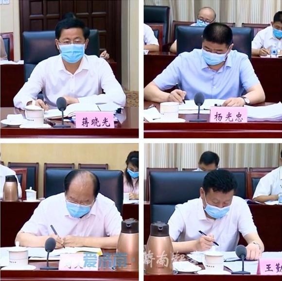 市委审计委员会第五次会议召开 孙立成主持 孙述涛出席