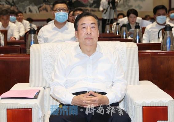 济南市第三季度重点招商项目集中签约 孙立成出席 孙述涛致辞