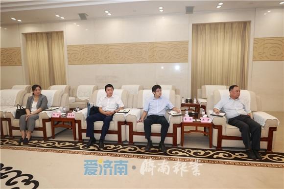 孙立成会见中国工程院院士叶奇蓁