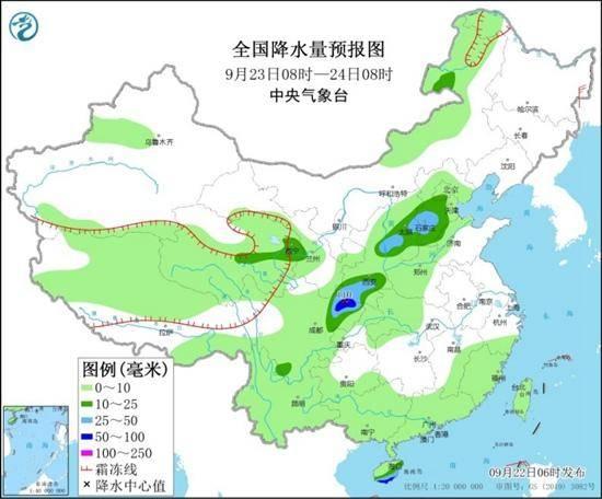新一轮降雨过程来袭,山东部分地区将有暴雨或大暴雨