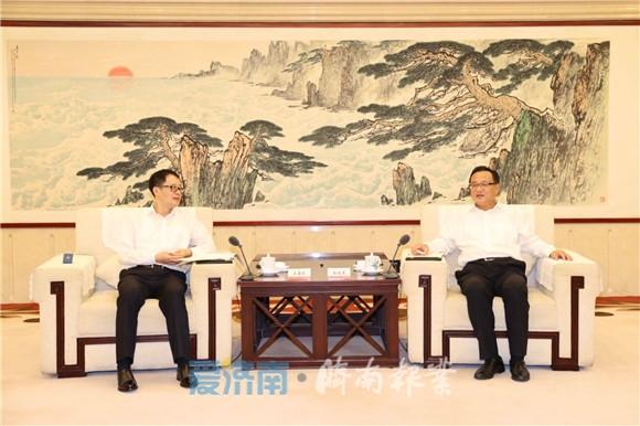 孙述涛会见中国交通建设集团客人